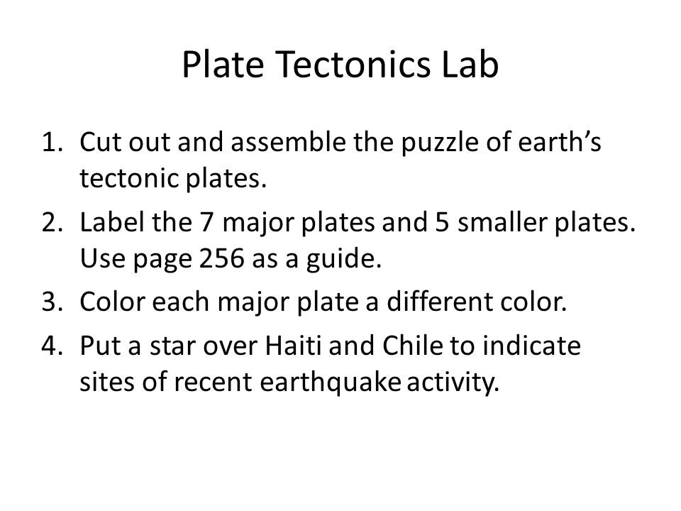 chapter 4 plate tectonics essay Plate tectonics academic essay plate tectonics prepare a 700- to 1,050-word press release that includes the following information.
