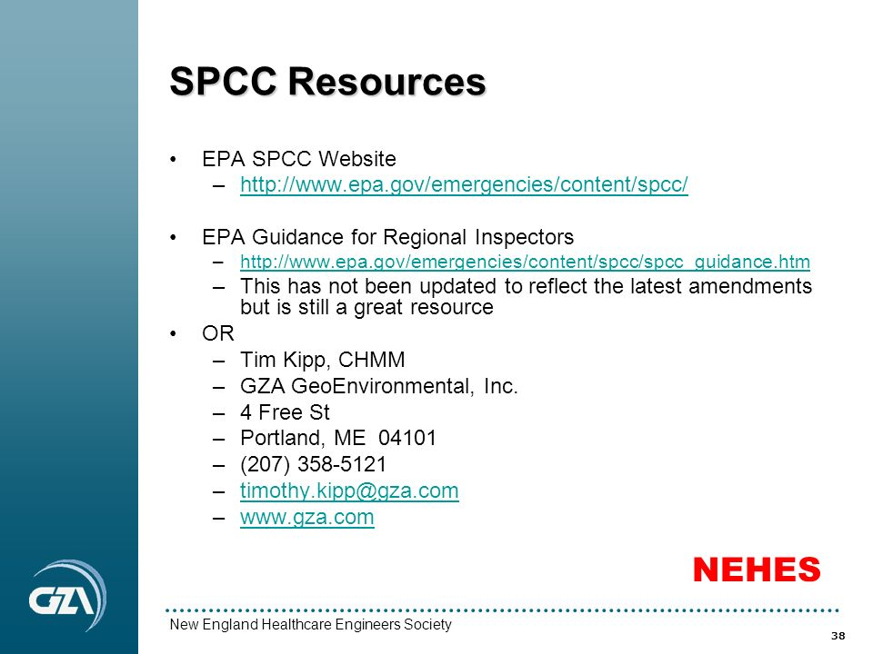 Spcc Template Tier 1 Qualified Facility Spcc Template The New Spcc