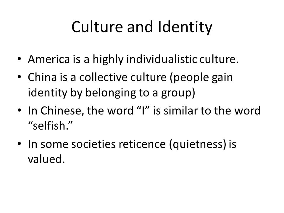 the chinese cultural identities Ancient chinese culture is a product of vast diverse landmass dotted with   ancient china's cultural identity was highly sectarian until it amalgamated into a.