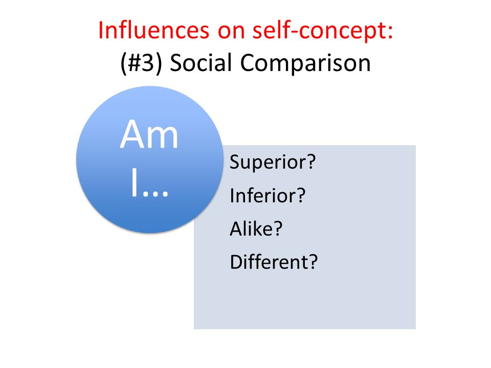 influences on self concept Cultural influences on the development of  cultural influences on the development of self-concept: updating our thinking why is it that some children try.