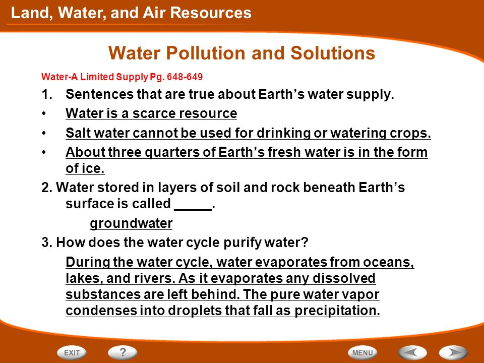 Table of contents conserving land and soil ppt video for Soil in sentence