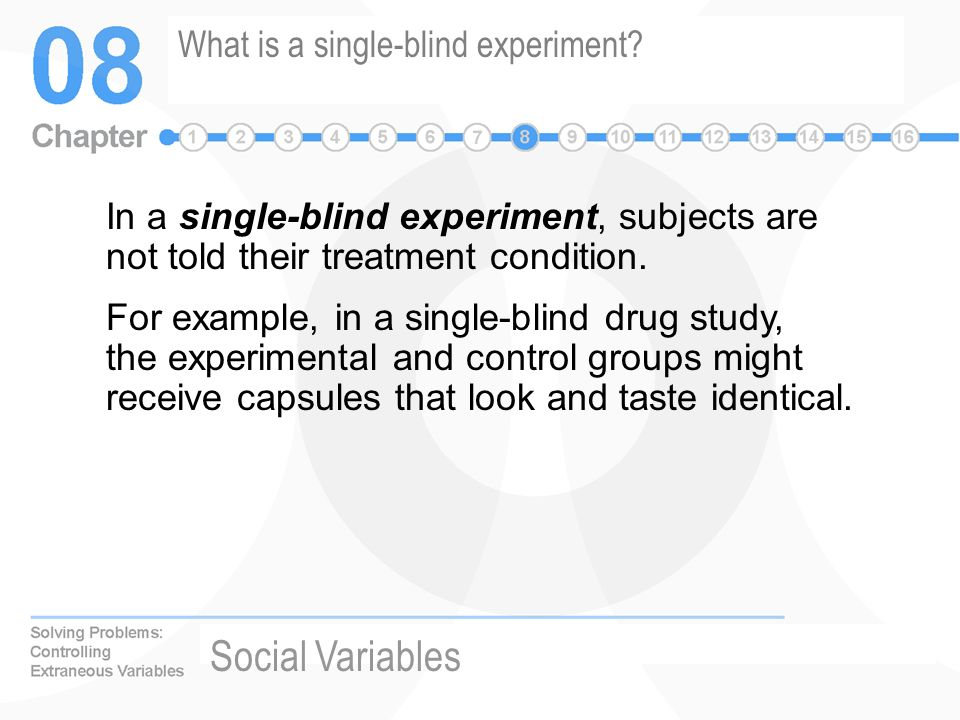 What does triple-blind mean? - YouTube