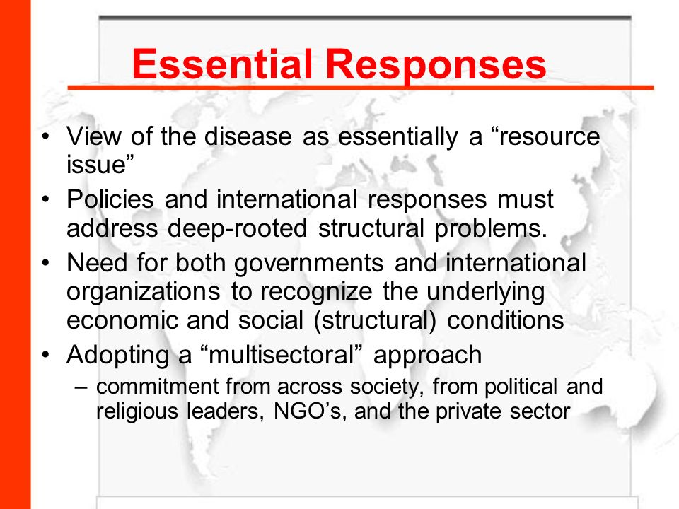 a view of the issues of hivaids Social work manifesto on hiv and aids that social workers and social work educators will be guided by a fundamental awareness that issues of hiv/aids awareness, education, research, treatment and care are intrinsically tied to issues of discrimination.