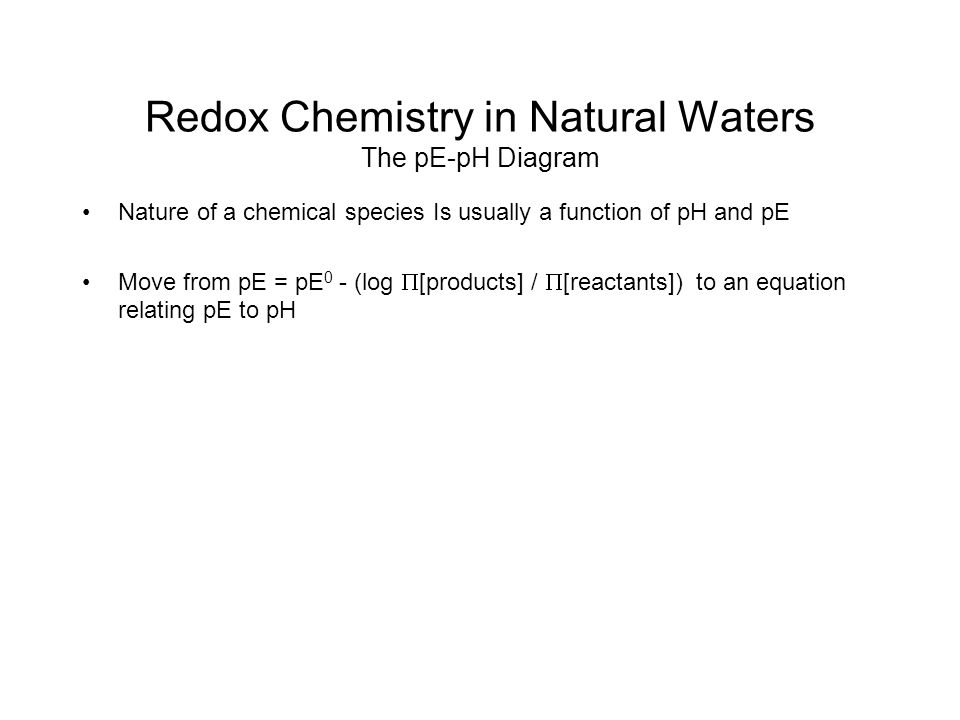 the chemistry of natural waters Oregonstateedu.