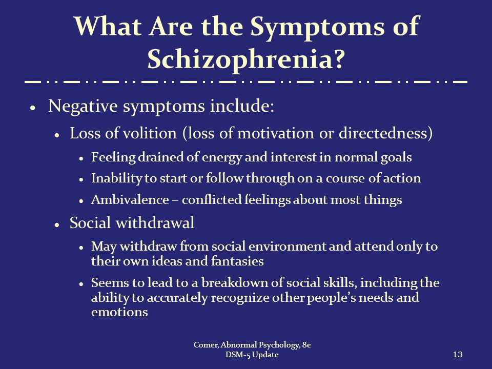 dating someone with schizophrenia symptoms Schizophrenia is when someone has unusual expressions or perceptions of   find out here what schizophrenia is, and what three symptoms a.