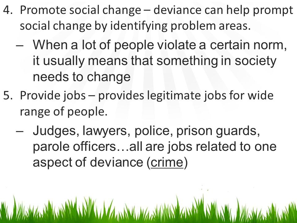 essay on crime and deviance