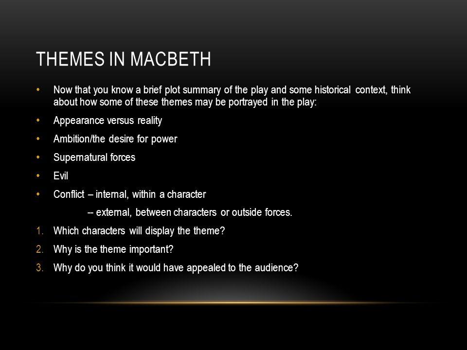 SparkNotes Macbeth Macbeth