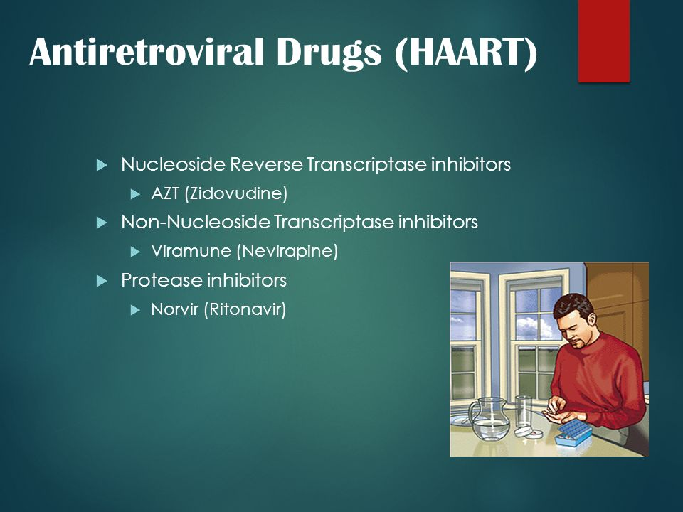 Antiretroviral Drugs (HAART)