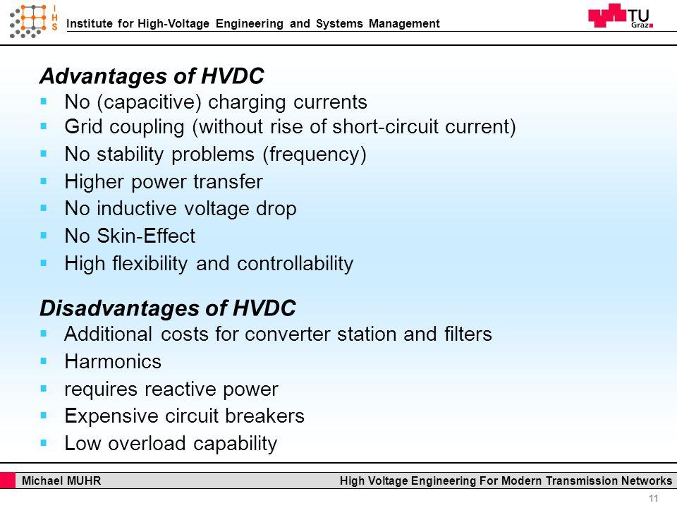 hvdc advantages and disadvantages pdf