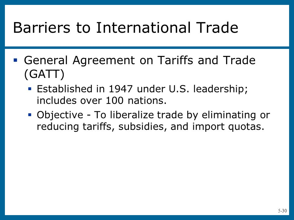tariffs or quotas affecting international trade How do government choices in regards to tariffs and quotas affect international relations and trade the main concern when dealing with international trade is trade balances.