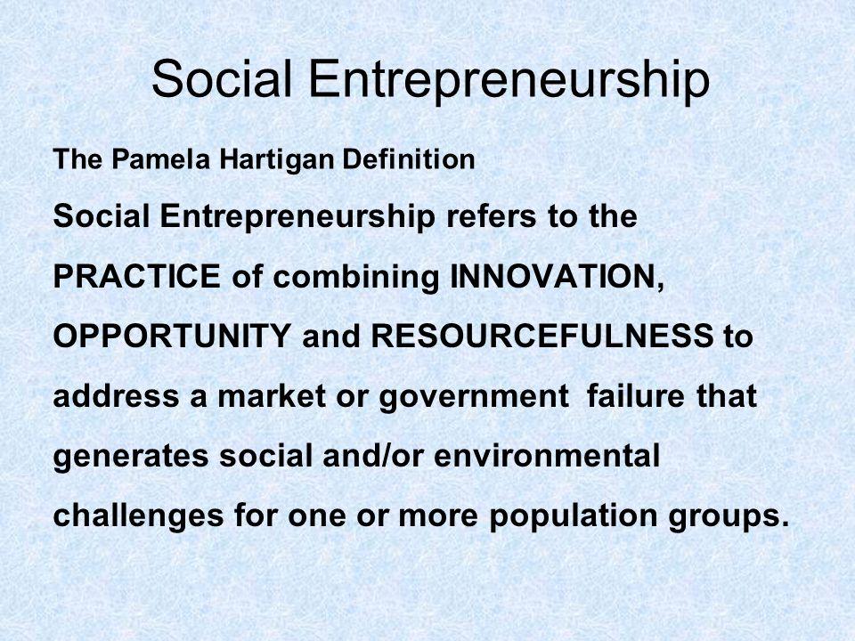 social entrepreneurs correcting market failures case Director, nyu stern program in social entrepreneurship  social  entrepreneurs: correcting market failures feb 19 social venture opportunity  identification.