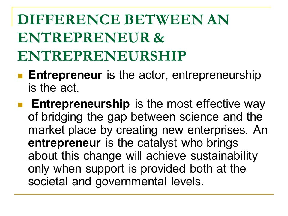 difference of entrepreneurship between usa and Purchase innovation, entrepreneurship,  entrepreneurship, and the economy in the us,  differences in relationship between teachers and students.