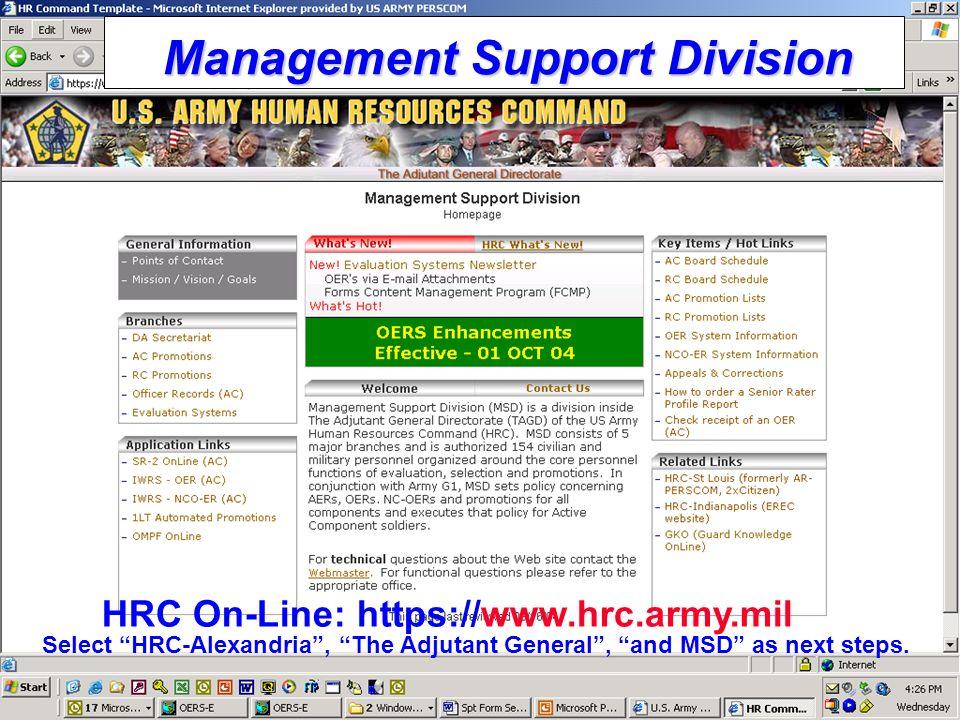 OFFICER PERSONNEL MANAGEMENT SYSTEM (OPMS) - ppt download