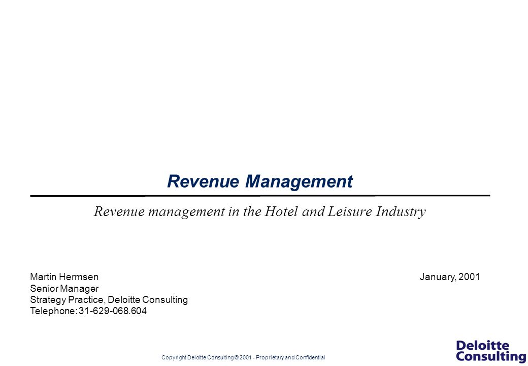 revenue management in hotel industry essay Learn hotel revenue management techniques and strategies for your hotel operation and earn a highly recognized certificate from ecornell enroll today.
