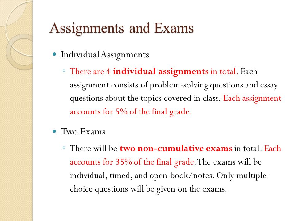 operations and supply chain management ppt 7 assignments