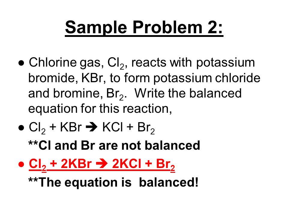 NOTES 111 Writing and Balancing Chemical Equations ppt video – Writing and Balancing Equations Worksheet