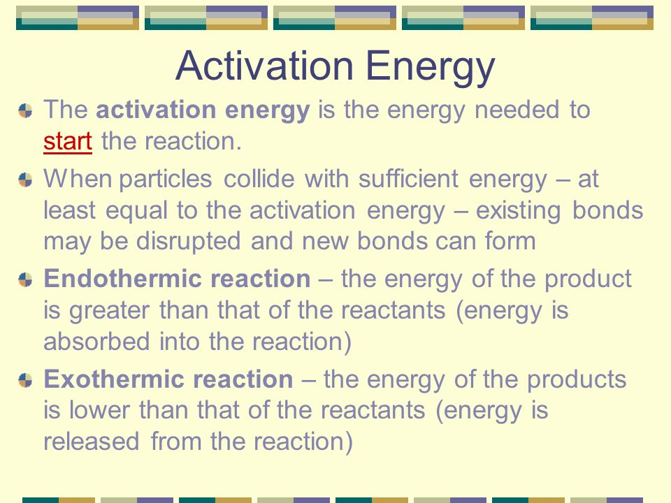 how to find the activation energy of a reaction