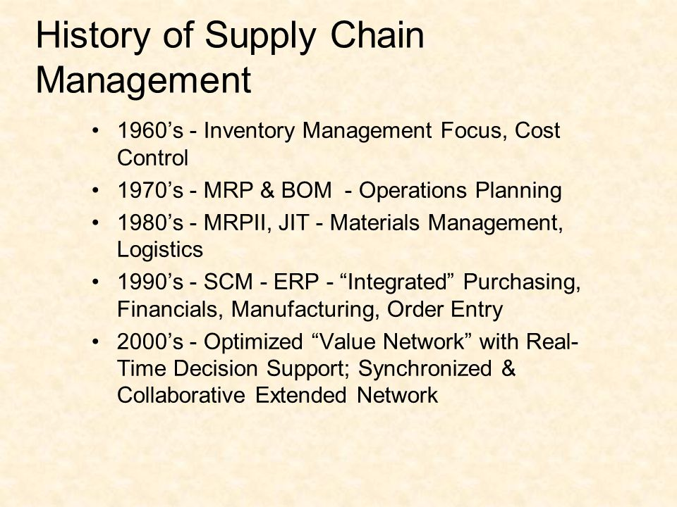 supply chain history A leading research and advisory services firm serving supply chain management and it professionals visit site meta group (2005.