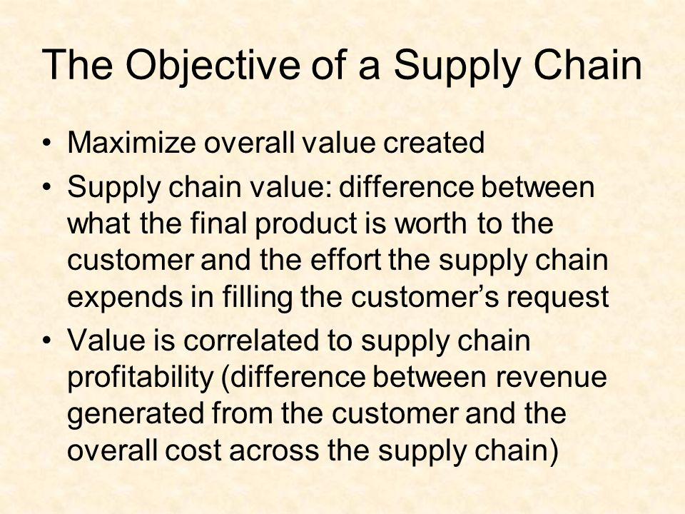 similarities between supply chain and chain value What is the difference between scm and logistics  supply chain management includes all value-adding activities from the extraction of materials through the.