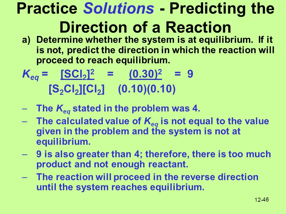 chemical equilibrium practice problems and solutions pdf