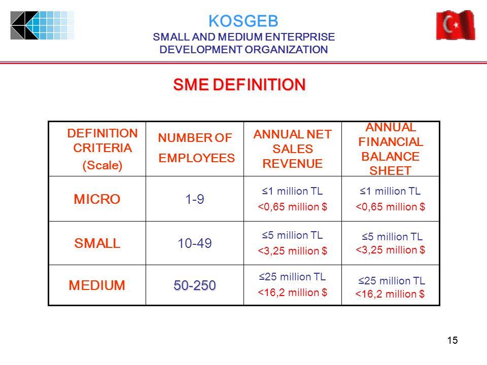 SMALL AND MEDIUM ENTERPRISE DEVELOPMENT ORGANIZATION