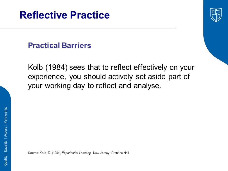 reflective practice in social work pdf