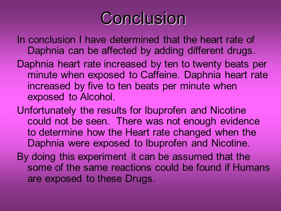 the effect of caffeine on the heart rate of daphnia Heart rate drops: for adderall (dextroamphetamine and racemic amphetamine) and caffeine to cause a decrease in heart rate suggests the substances are helping your anxiety and frustration and providing you with relief.