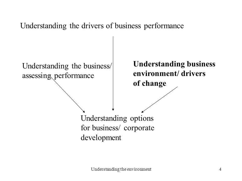 understanding the business environment Understanding motivation: an effective tool for  groups to produce the best results for business in the most  creating a positive motivational environment.