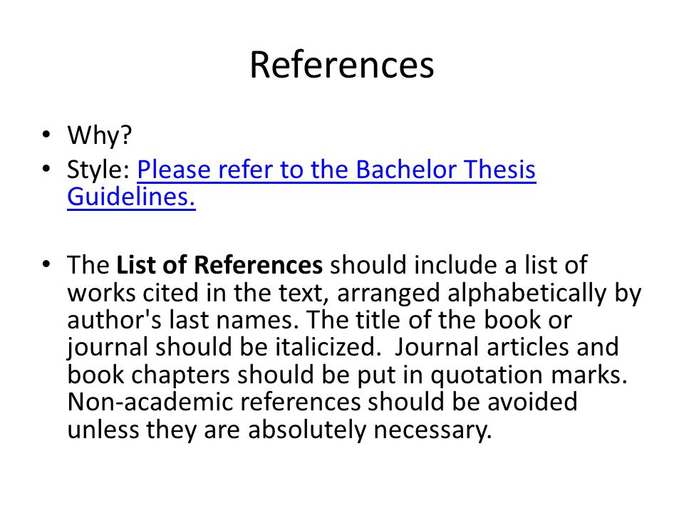 bachelor thesis writing style On this page you can learn about thesis acknowledgement you can download free thesis acknowledgement sample, find out useful phrases for thesis acknowledgement.