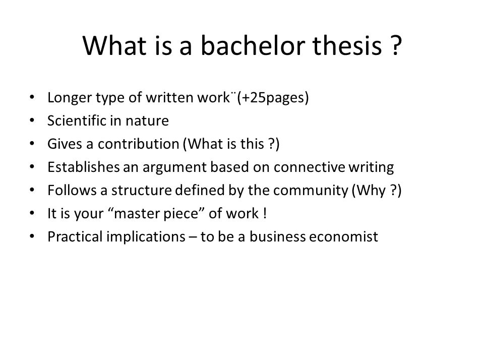 stylesheet bachelor thesis What makes a good bachelors' thesis update cancel the presented methods are likewise applicable to planning and writing a bachelor thesis or master thesis.