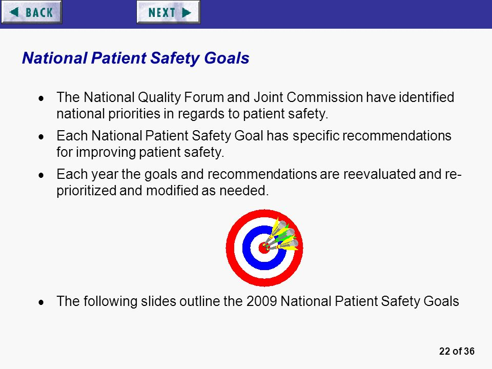 outline for patient safety Nurses are in a key position to improve patient safety, not just through their  individual patient care actions as clinicians, but by exercising their leverage as.