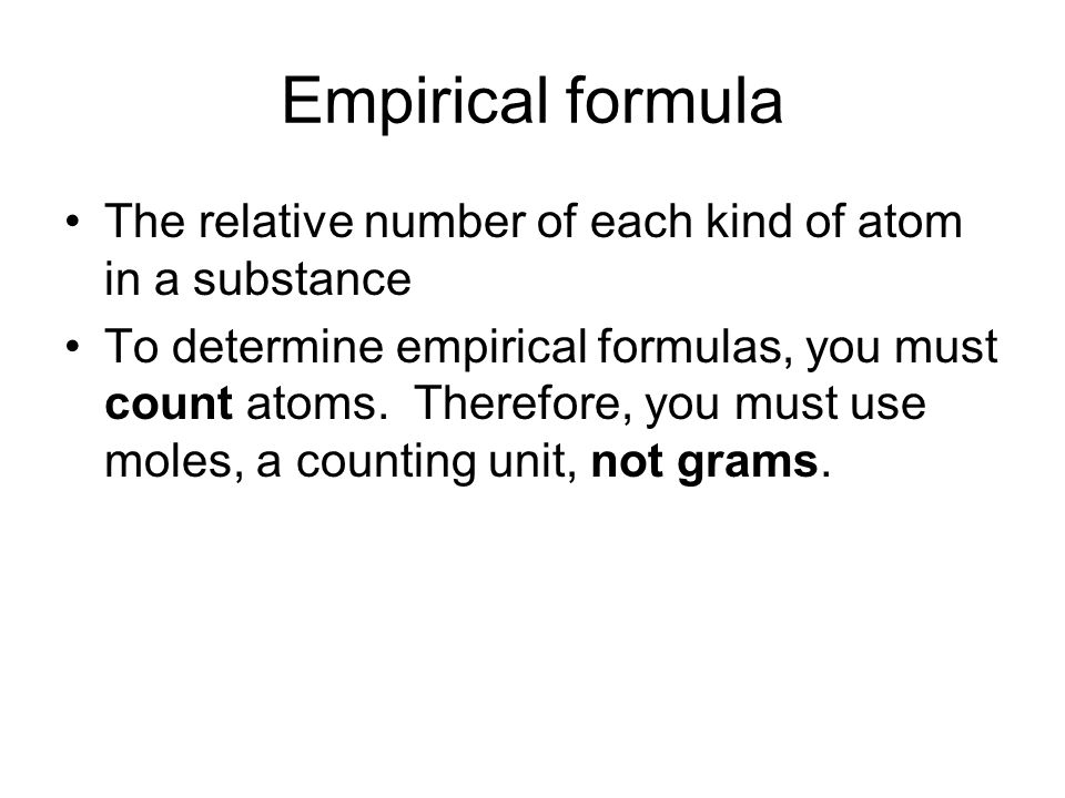 how to find atoms to grams