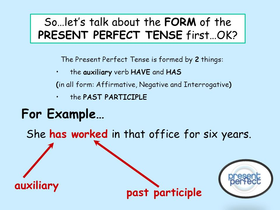 PRESENT PERFECT. - ppt download
