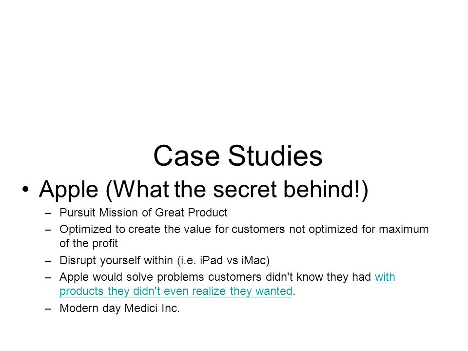 case study for apple