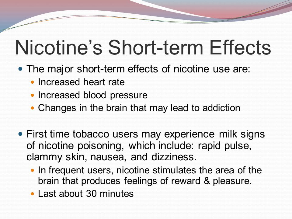 Short Term Effects : Chapter tobacco ppt video online download