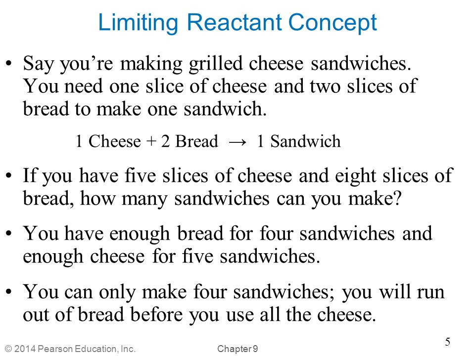Limiting Reactant Concept
