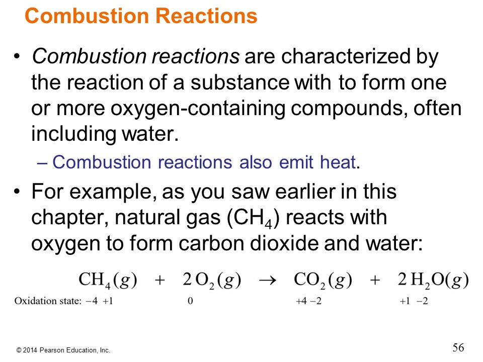 application of redox reaction in combustion