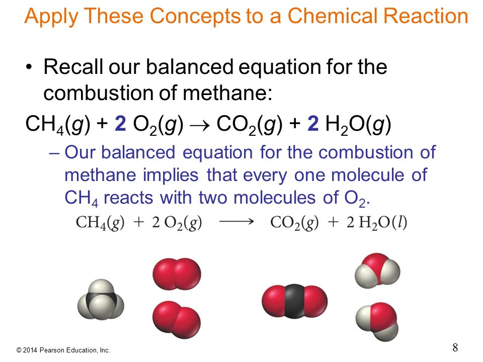 Apply These Concepts to a Chemical Reaction