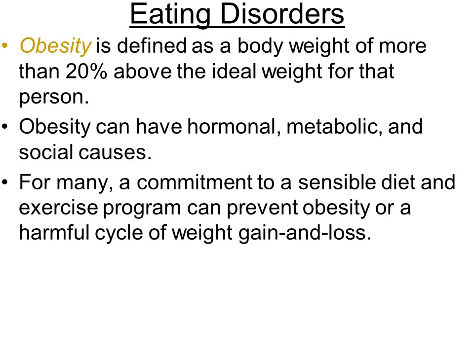 anorexia is a cause of weight loss essay Of eating disorders most of these disorders are  people with anorexia lose  weight by dieting  drop in internal body temperature, causing a person to feel  cold.