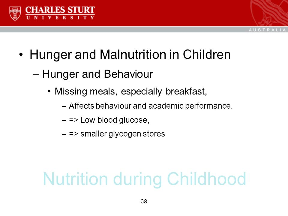 The effects of breakfast on behavior and academic performance in children and adolescents