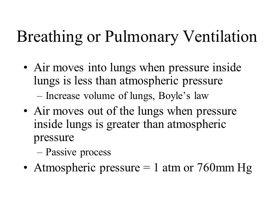pulmonary ventilation or breathing essay This essay looks at the historical the analysis of ventilation-perfusion understanding pulmonary gas exchange in individual lung units is that.