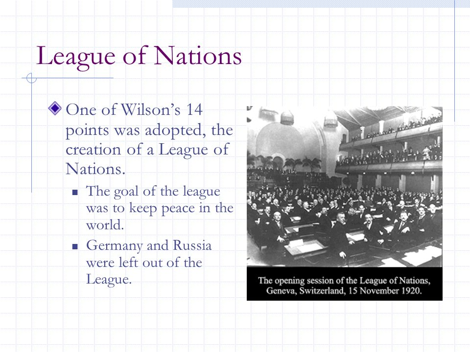 the impact of the league of nations on world peace The league of nations was created with the express purpose of preventing another world war ultimately, it proved incapable of succeeding in its charter goal for a number of reasons.