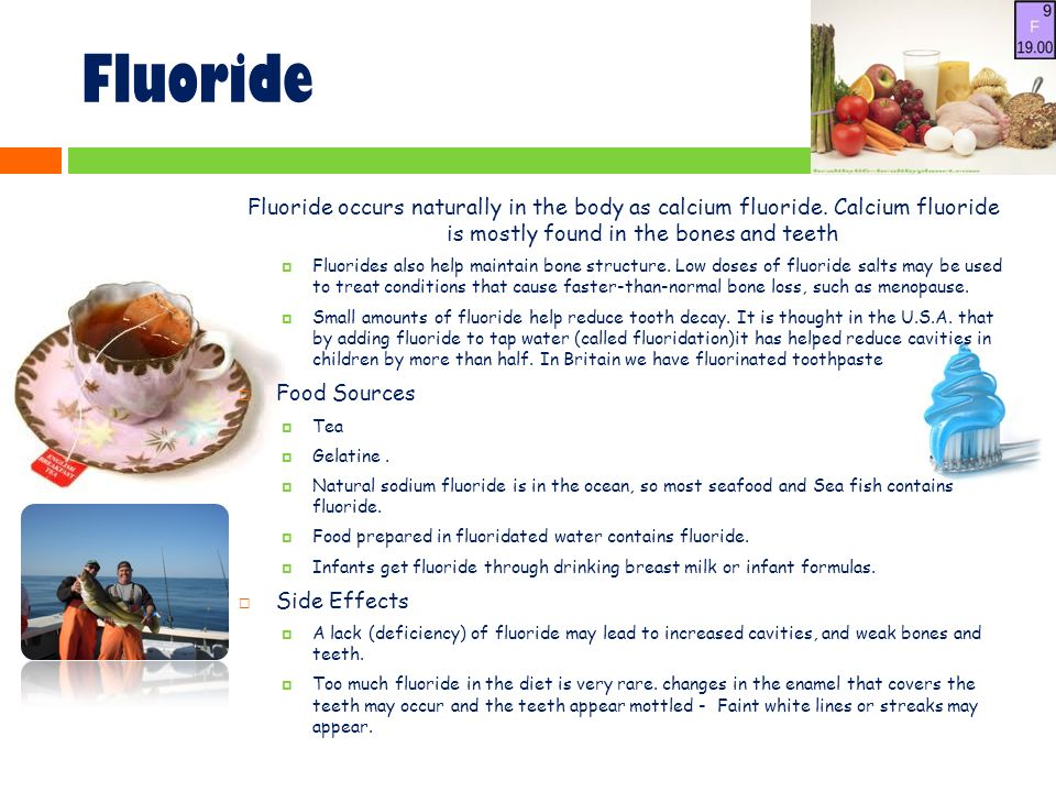 Which Food Naturally Contains Small Amounts Of Fluoride