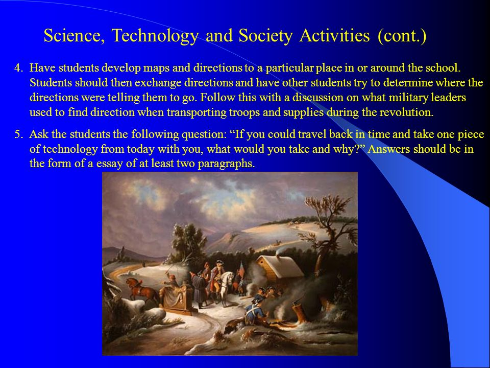 science and technology in society essay Science, technology, society and environment (stse) education, originates from the science technology and society (sts) movement in science educationthis is an outlook on science education that emphasizes the teaching of scientific and technological developments in their cultural, economic, social and political contexts.
