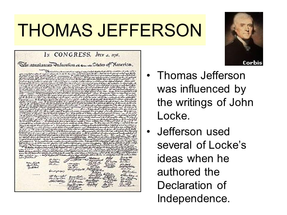 john locke influence in the declaration of independence Locke's influence during the the two treatises are echoed in phrases in the declaration of independence and writings by samuel john locke, the two.