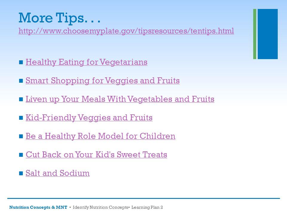 choose my plate dietary guidelines video