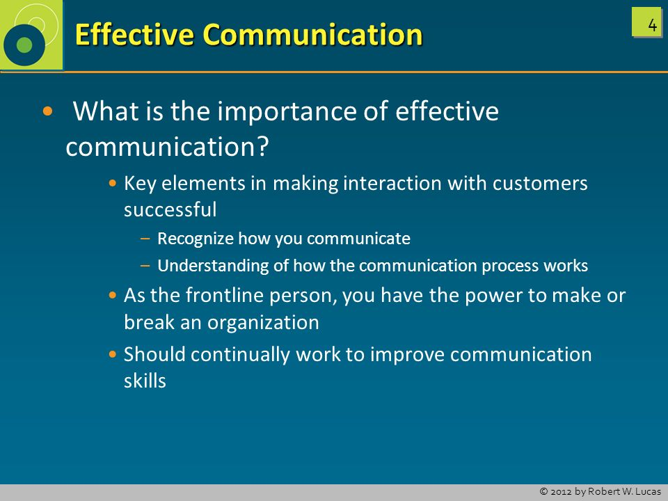 key elements of communication The 5 most important aspects of effective communication it is one of the most important elements often this part of the message is forgotten but is key.