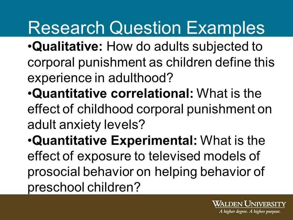 qualitative dissertation research questions