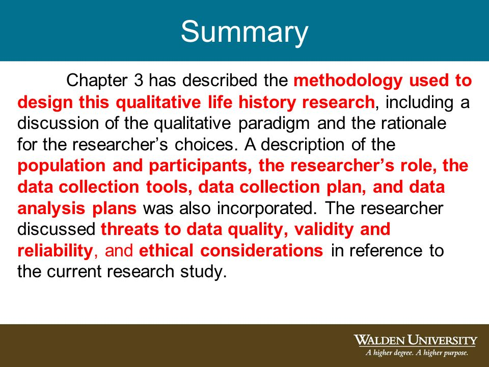 Methodology For those writing a dissertation, this will be ... Qualitative Data Analysis Process