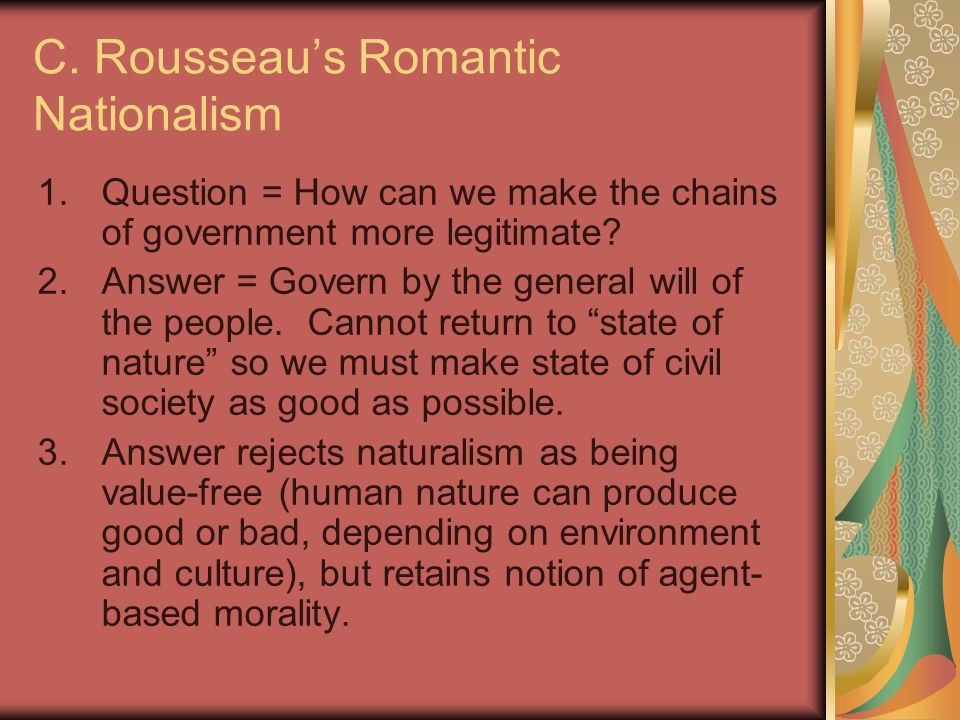 rousseau civil society essay Rousseau: 'man was born free but 'man was born free but is everwhere in chains 'the social contract' was rousseau's outline of civil society that.
